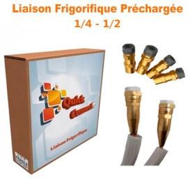 Liaison Frigorifique Préchargée 1/4-1/2 Quick Connect Plus Pack4