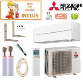 Pack Confort Climatisation Mitsubishi MSZ-LN25VGW
