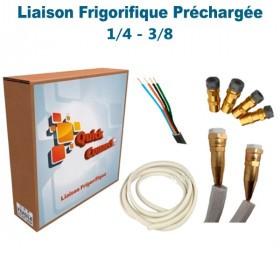Liaison Frigorifique Préchargée 1/4-3/8 Quick Connect Plus Pack5