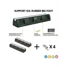 Support Sol Rubber Big Foot 450 mm
