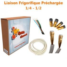 Liaison Frigorifique Préchargée 1/4-1/2 Quick Connect Plus Pack5