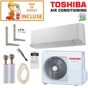 Pack Confort Climatisation Toshiba Seiya RAS-B16J2KVG-E