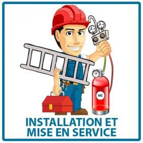 Installation et mise en service du climatiseur Quintuple-split