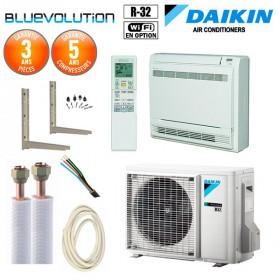 Pack Climatiseur à faire poser Console Daikin FVXM25A